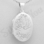 - Pandantiv argint casetuta ovala - AS179