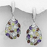 Cadouri Femei 1-8 Martie - Cercei argint cu pietre semipretioase - AR211