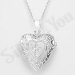 - Colier argint inima - AR113