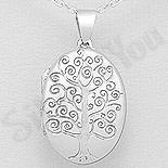 PANDANTIVE - Pandantiv argint copacul vietii casetuta - AR324