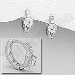 Cadouri Femei 1-8 Martie - Cercei argint cu zirconii albe - AS110