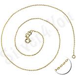 Cadouri Dama Selectie - Lant zale mici in culoarea aurului de 14K - ZS265