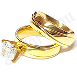 Set verigheta si inel cu zirconii albe - BR6139A