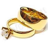 Inele De Logodna - Set verigheta si inel cu zirconiu alb - BR6041A
