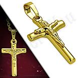 Pandantive crucifix - Pandantiv inox crucifix - LR478