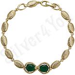 Bijuterii Inox - Bratara cu jad verde - ZS314