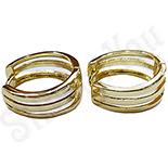 Cadouri Femei 1-8 Martie - Cercei veriga in culoarea aurului - ZS803