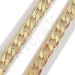 Bijuterii in Culoarea Aur 14K - Lant lucrat in culoarea aurului de 14K/ 3.5 mm - ZS788
