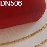 LANTURI - Lant inox aurit 45 cm/1.2 mm - DN506