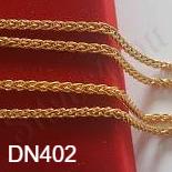 Bijuterii Inox - Lant inox aurit 60 cm/2 mm - DN402