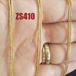 LANTURI - Lant inox aurit dantelat 60 cm/2.5 mm - DN410