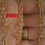 Cadouri Femei 1-8 Martie - Lant inox aurit 50 cm/5 mm - DN505