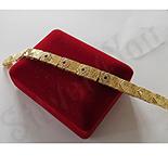 Bratara in culoarea aurului 14K zirconii albe - ZS855A
