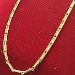 Lant in culoarea aurului 14K/45 cm si 1.5 mm - ZS784