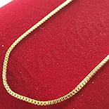 Cadouri Femei 1-8 Martie - Lant aurit cu aur de 14K/50 cm si 1.5 mm - ZS900A