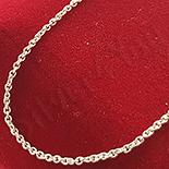 - Lant argint 44 cm/1 mm - AG220