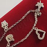 BRATARI - Bratara argint 925 zirconii si ataranatori - AG227