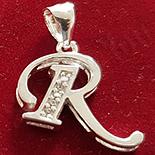 - Pandantiv argint rodiat 925 - R - AG240