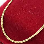 Lant in culoarea aurului 14K/ 45 cm - ZS787