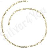 Lant aurit cu aur 14K 45  cm/4 mm - ZS1093