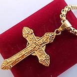 Pandantiv cu lant in culoarea aurului 14K - ZS1134