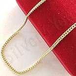 LANTURI - Lant aurit cu aur de 14K 46 cm/1.5 mm - ZS1146
