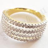 Inel aurit cu aur 14K - ZS1181