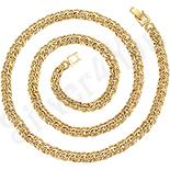 Cadouri Femei 1-8 Martie - Lant in culoarea aurului 14K 55 cm/6 mm - ZS1215