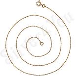 Cadouri Femei 1-8 Martie - Lant aurit cu aur 14K - 45 cm/1 mm - ZS1010