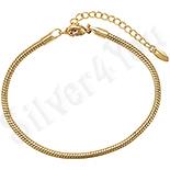 Cadouri Femei 1-8 Martie - Bratara in culoarea aurului 14K - ZS1027