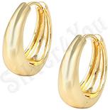 CERCEI - Cercei in culoarea aurului 14K - ZS1038