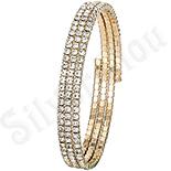 Cadouri Femei 1-8 Martie - Bratara aurita cu aur de 14K - reglabila - ZS1045