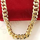 Bijuterii Inox - Lant in culoarea aurului 14K 60 cm/ 8 mm - ZS1014