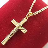 Cadouri Femei 1-8 Martie - Pandantiv cu lant in culoarea aurului 14K - ZS1319